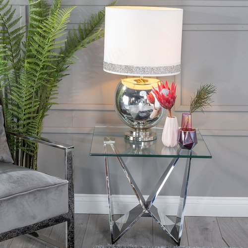 Stainless Steel Chrome Side Tables - Catch a glimpse of the latest arrived stainless steel chrome side tables in this roundup of the latest living room furniture for sale on Staall