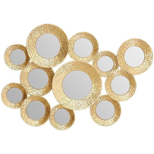 Premier Housewares Hammered Wall Mirrors - Surf our collection of premier housewares hammered wall mirrors to suit any budget.