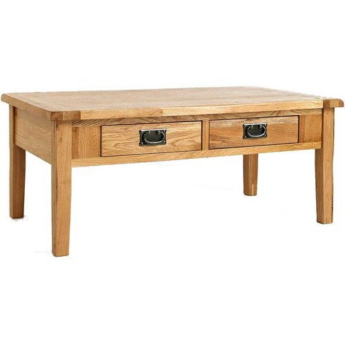 Oak Coffee Tables - Oak Coffee tables that offer a beautiful blend of classical styling and substantial build quality. The best oak coffee tables with the best features.