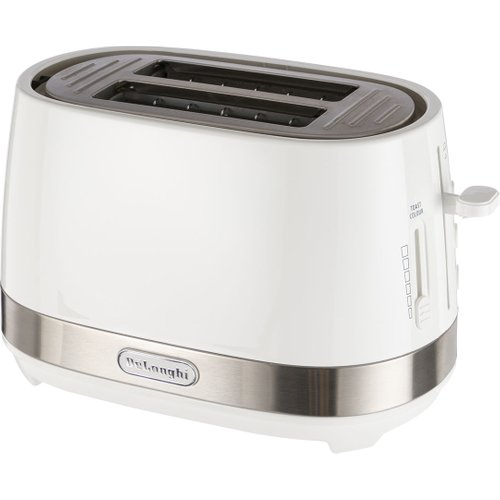 White Toasters - White toasters with total convenience with defrost, cancel and reheat functions and removable crumb tray to keep things tidy. Best priced and best featured white toasters.