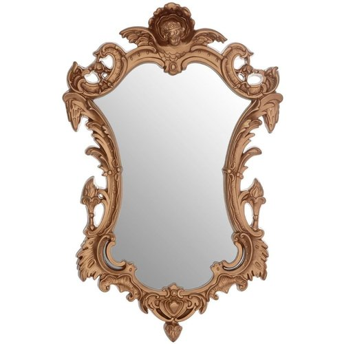 Gold Wall Mirrors - Stylish, modern, antique, luxurious gold wall mirrors for the living room, hallway or any room of your home. Best wall mirrors finished in gold with the best prices and features.