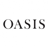 Image Label: Logo | Seller Name: Oasis | Location: United Kingdom | Greater Manchester | Manchester | Summary: Oasis clothing was established in 1991, and has been spreading colour, print and loveliness ever since.