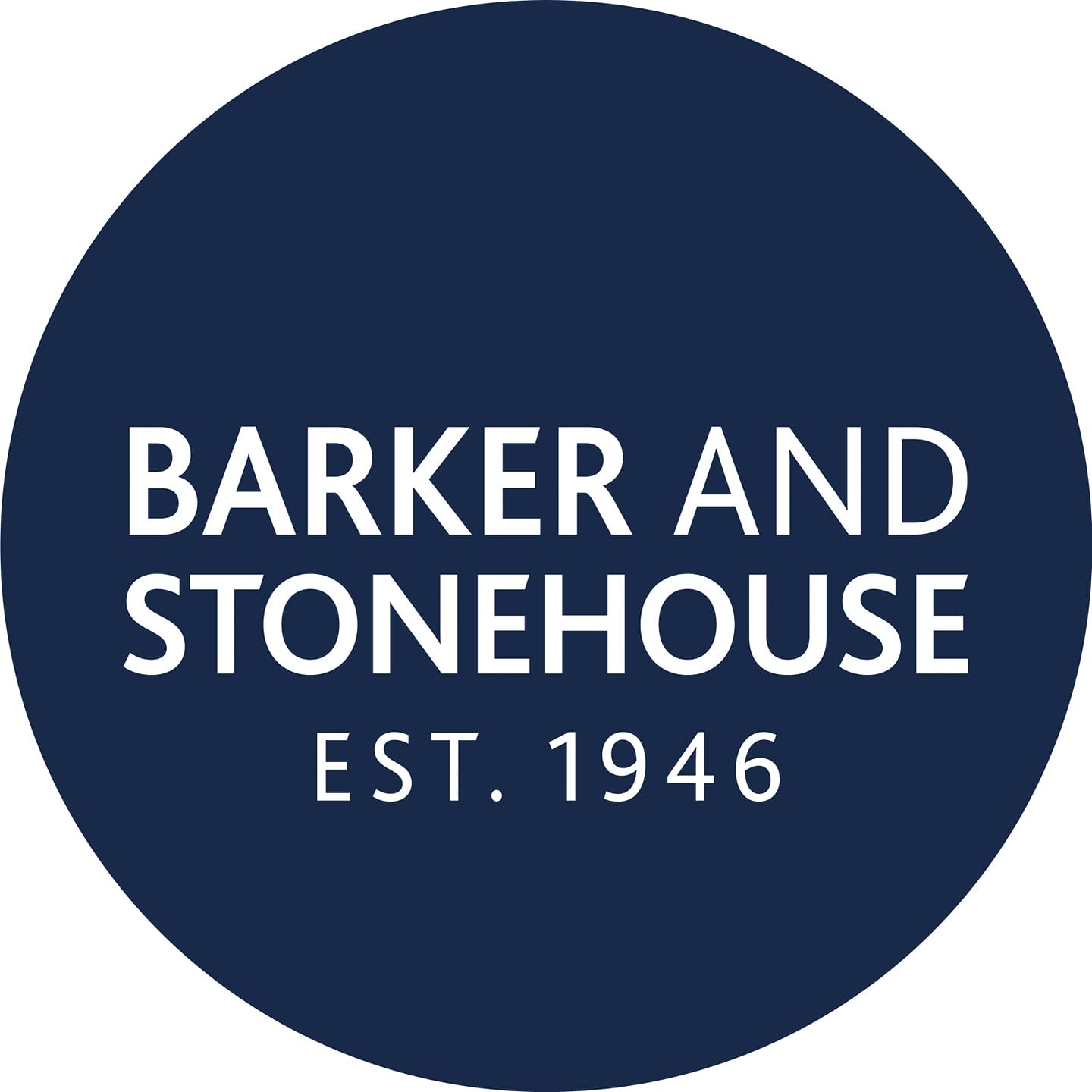Image Label: Logo | Seller Name: Barker And Stonehouse | Location: United Kingdom | County Durham | Stockton-on-Tees | Summary: Barker and Stonehouse is a British independent furniture retailer. It is a family-run firm since 1946 and was established in Stockton, County Durham.