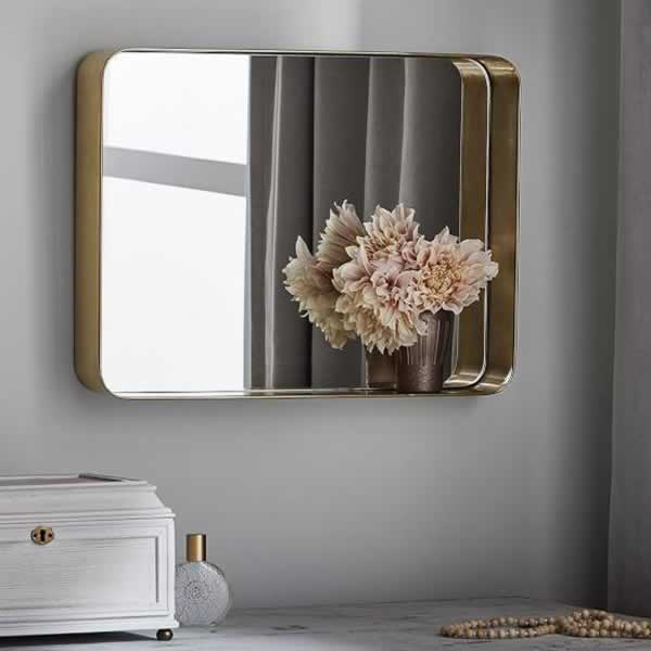 Discover Rounded Corner Mirrors ideas