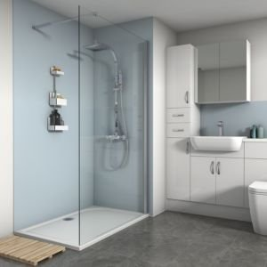 Discover Blue Shower Panels ideas