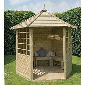 Discover Garden Shelters & Gazebos ideas