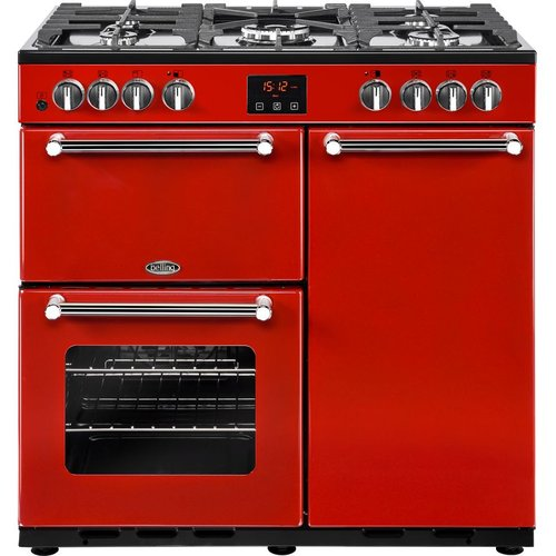 October 2019: 13 Red Range Cookers in UK - Great deals on range cookers in red from Sonic Direct, Currys PC World and John Lewis & Partners