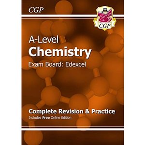 A-level Chemistry Edexcel Year 1 & 2 Complete Revision (2015, Paperback)
