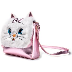 Disney - Marie Women's Shaped Shoulder Bag - Pink/white
