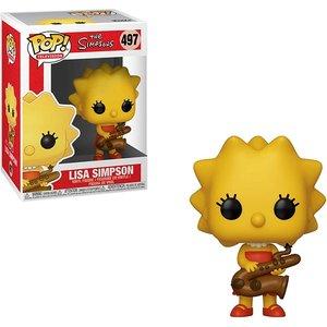 Lisa Simpson With Saxophone (the Simpsons) Funko Pop! Vinyl Figure #497