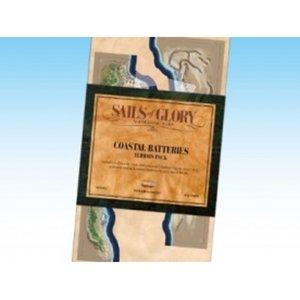 Sails Of Glory Coastal Batteries Terrain Pack Board Game