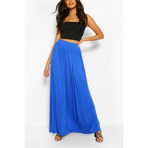 Boohoo Womens Basic Floor Sweeping Maxi Skirt - Blue - 14, Blue Dzz2668364222 Womens Dresses & Skirts, Blue