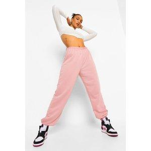 Boohoo Womens Basic Regular Fit Joggers - Pink - 12, Pink Fzz7238035520 Womens Sportswear, Pink