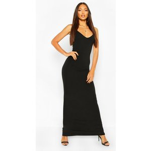 Boohoo Womens Basic Strappy Maxi Dress - Black - 16, Black Fzz7159510524 Womens Dresses & Skirts, Black