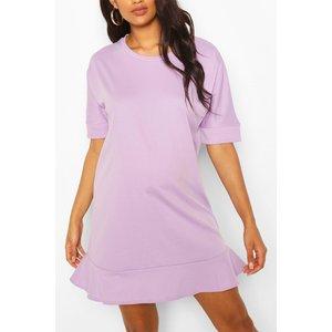 Boohoo Womens Maternity Tunic Dress - Purple - 8, Purple Bzz4540813716 Womens Dresses & Skirts, Purple