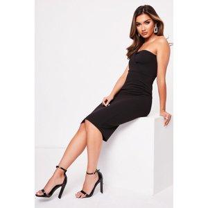 Boohoo Womens One Shoulder Midi Dress - Black - 12, Black Fzz6697510520 Womens Dresses & Skirts, Black