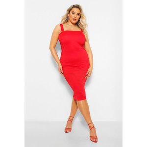 Boohoo Womens Plus Cut Out Mini Bodycon Dress - Red - 26, Red Pzz59796157352 Womens Dresses & Skirts, Red