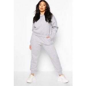 Boohoo Womens Plus Oversized Joggers - Grey - 16, Grey Pzz6526813124 Womens Sportswear, Grey