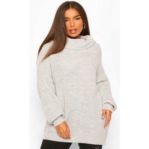 Boohoo Womens Plus Slash Neck Jumper Dress - Grey - 16-18, Grey Pzz59065131361 Womens Dresses & Skirts, Grey
