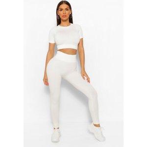 Boohoo Womens Seamless Gym Leggings - Brown - S, Brown Fzz6028793930 Womens Trousers, Brown