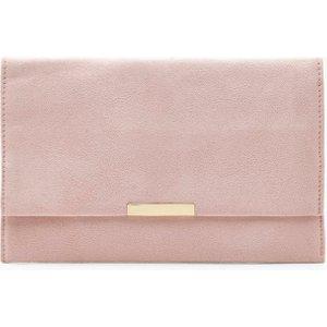 boohoo Womens Suedette & Bar Clutch Bag - Beige - One Size, Beige DZZ1594029535 Bags, Beige
