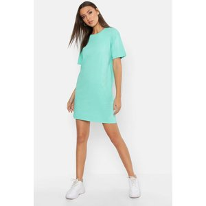 Boohoo Womens Tall Acid Wash T-shirt Dress - Green - M, Green Tzz9541720956 Womens Dresses & Skirts, Green