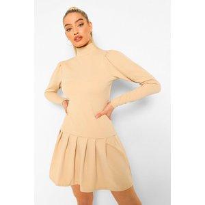 Boohoo Womens Tennis Skirt Dress - Beige - 18, Beige Fzz4393816551 Womens Dresses & Skirts, Beige