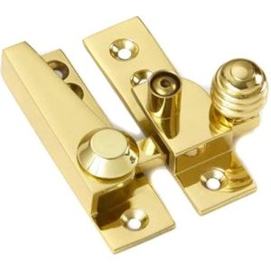 Croft 1035l Lockable Reeded Knob Sash Fastener  K3010