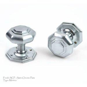 Croft 4180 Flat Octagon Door Knob  D2900