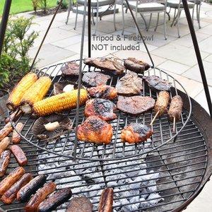 Kadai Fire Bowls Kadai Swing Grill  J4628
