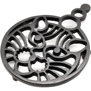 Cast in Style Small Cats Face Trivet  M277