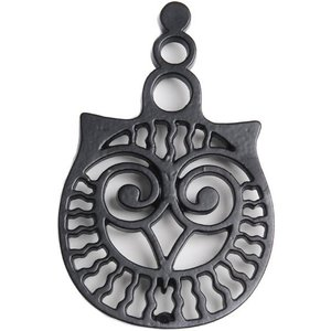 Cast in Style Small Owl Trivet  M1346