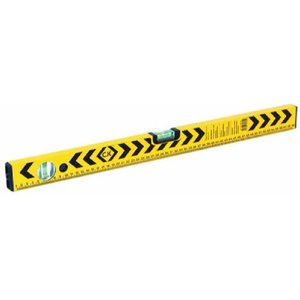 C.k Tools Aluminium Box Section Spirit Level Measure Tool With Vials - 800mm-3 Vial With Rule  3287AWUK T3494 32