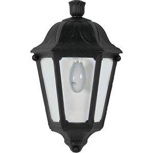Fumagalli Iesse Half Lantern Style Outside Wall Light Ip44 E27 60w  8759AWUK