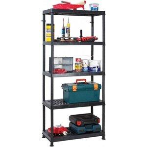 Garland Self Assembly Ventilated Plastic Shelving Unit - 5 Shelf  8926AWUK G08145B