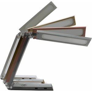 Greenhall Lighting Prism Adjustable Colour Temperature Triangular Desk Lamp - White  7111AWUK GHPW