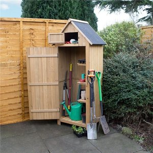 Kingfisher Wooden Garden Shed  7737AWUK WSHED