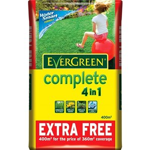 Miracle-gro Evergreen Complete 360m2 + 10% Extra Free Lawn Food, Weed And Moss Killer  8216AWUK 119692