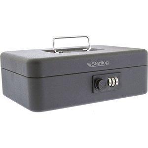 Sterling 10 Combination Cash Box - Black  8426AWUK CB03CBK