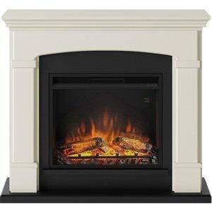 Tagu Helmi Electric Fireplace - Soft Cream  Complete Suite Eu Plug  9680awuk Fm463 Cr2 23pf1a