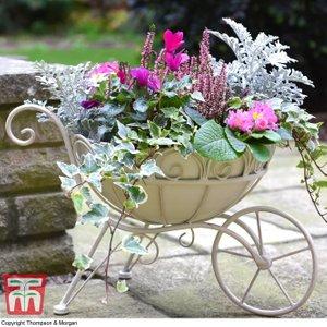 Metal Wheelbarrow Planter Ka9506 Garden Tools