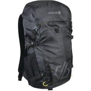 Vite Ii 25l Backpack Black Fluro Yellow Dare2b