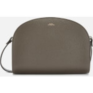 A.p.c. Women's Demi-lune Cross Body Bag - Grey  PXBLH F61048 LAA  Bags, Grey