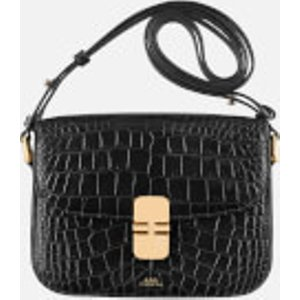 A.p.c. Women's Grace Small Cross Body Bag - Black  Pxblj F61413 Lzz  Clothing Accessories, Black
