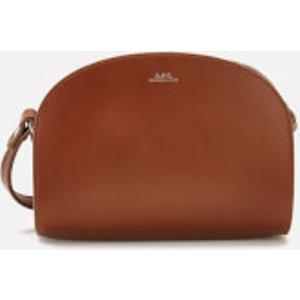 A.p.c. Women's Mini Demi-lune Cross Body Bag - Tan  PXAWV F61392 CAD  Bags, Tan