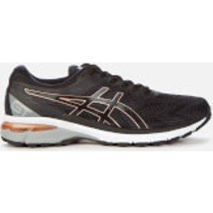 Asics Women's Running Gt-2000 8 Trainers - Black/rose Gold - Uk 6  1012a591 002 Running Shoes, Black