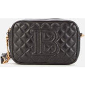 Balmain Women's Quilted Camera Bag - Black Tn1s415lnfm 0pa Clothing Accessories, Black