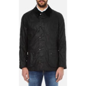 Barbour Heritage Men's Ashby Waxed Jacket - Black - L  Mwx0339bk71 Coats And Jackets Womens Outerwear, Black