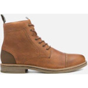 Barbour Men's Dalton Leather Toe Cap Lace Up Boots - Cognac Texas - Uk 10 - Tan  Mfo0417ta52 Mens Footwear, Tan