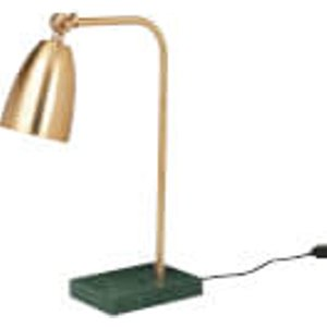 Broste Copenhagen Mynte Marble Iron Table Lamp - Brass   70010026  Lighting